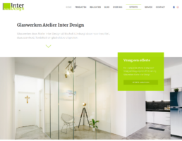 Nieuwe website Atelier Inter Design