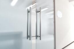 Dubbele glazen deur