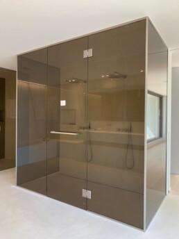glazen douchedeuren op maat